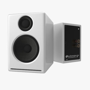 multimedia speakers audioengine a2 3d model