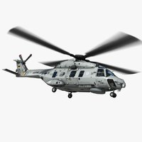 3d nh90 helicopter german navy model