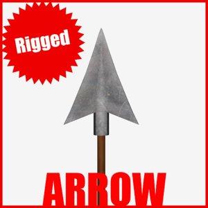 arrow obj