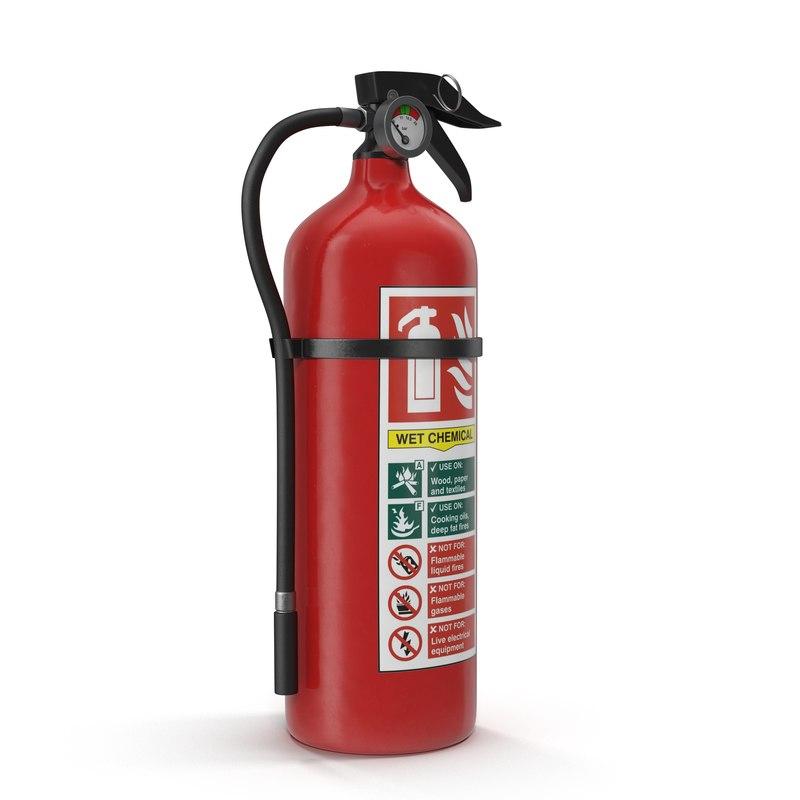 3d model extinguisher 2