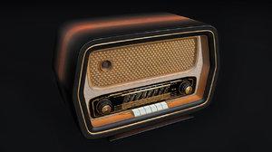 c4d old radio