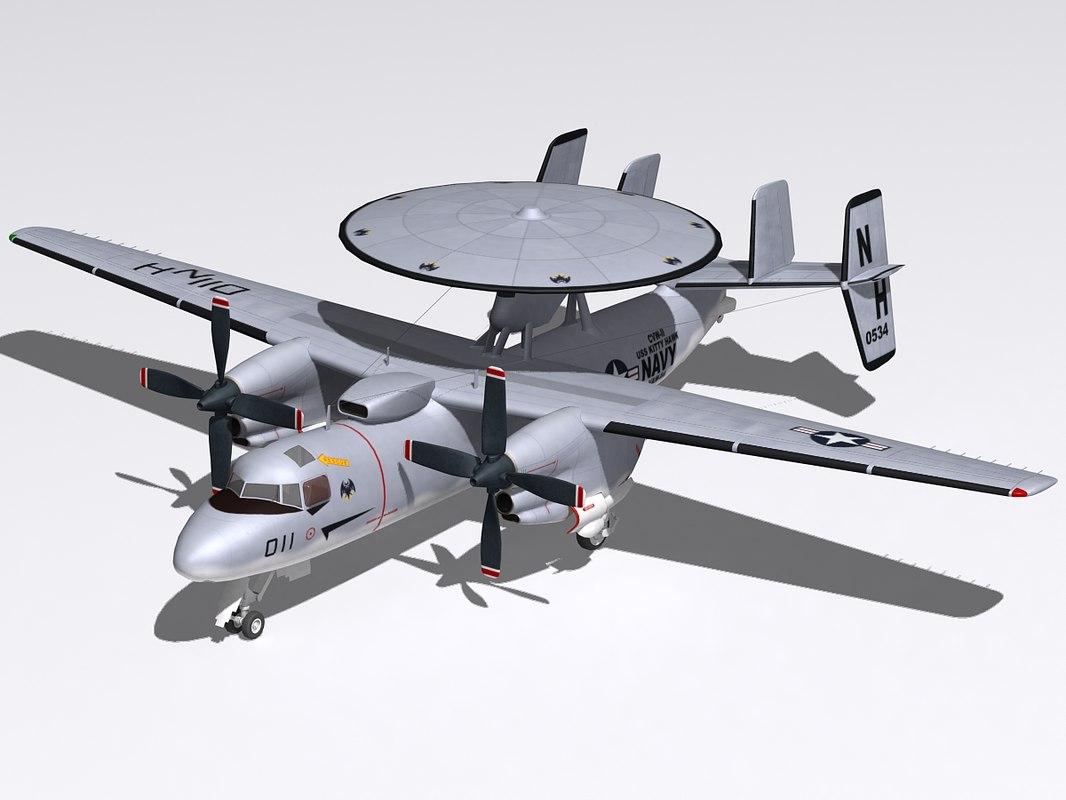 3d model northrop hawkeye