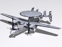 3d model northrop hawkeye