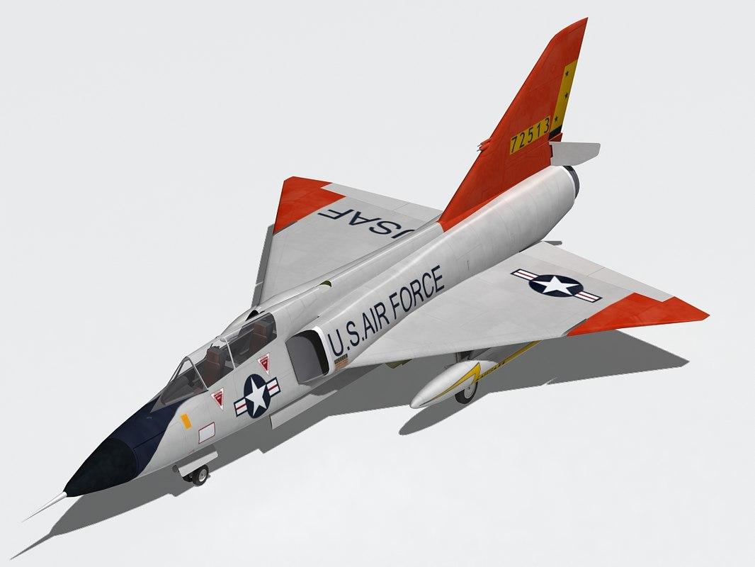convair f-106 max