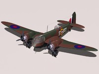 bristol blenheim 3d model