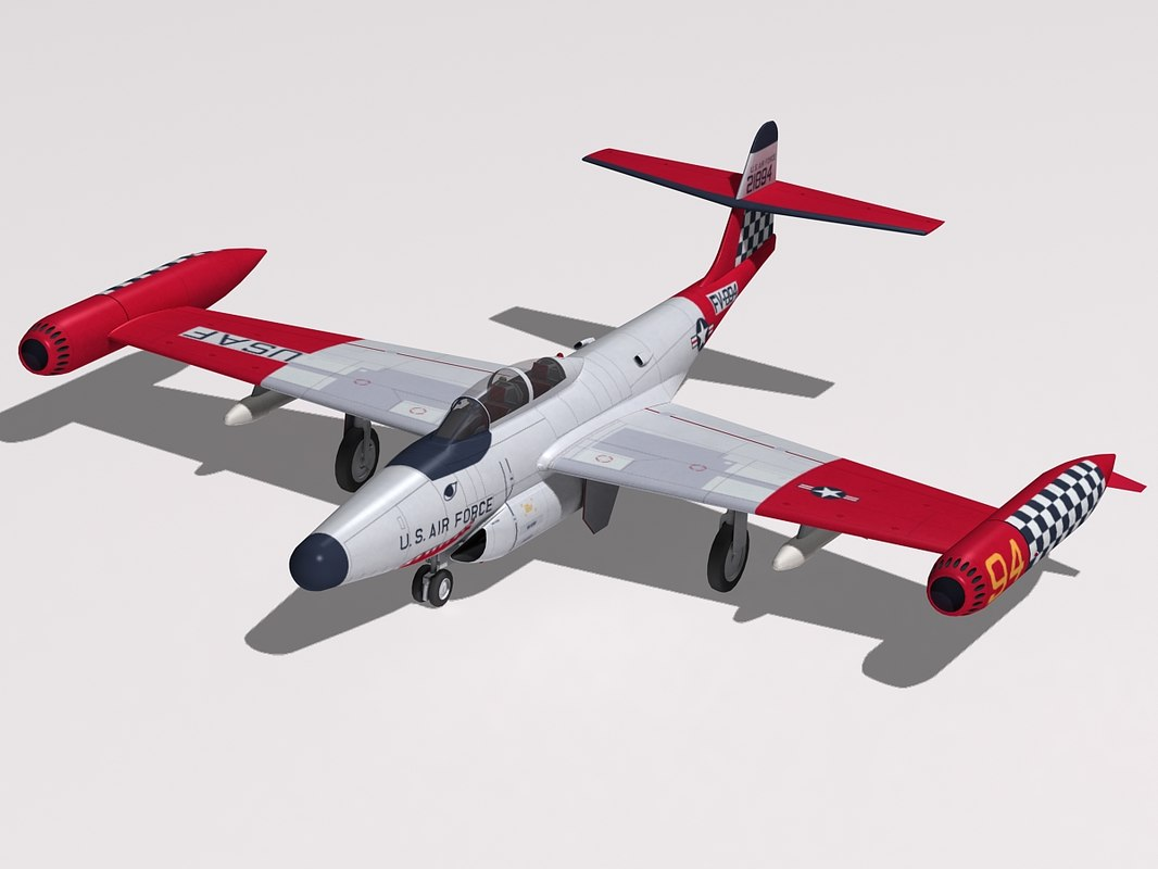 3d northrop f-89 scorpion model