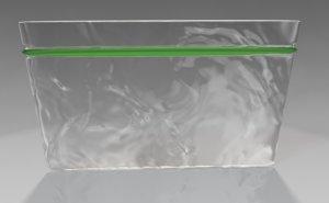 plastic bag 3d 3ds