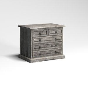 3d model chest drawers