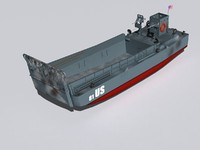 LCM-3 landing craft.