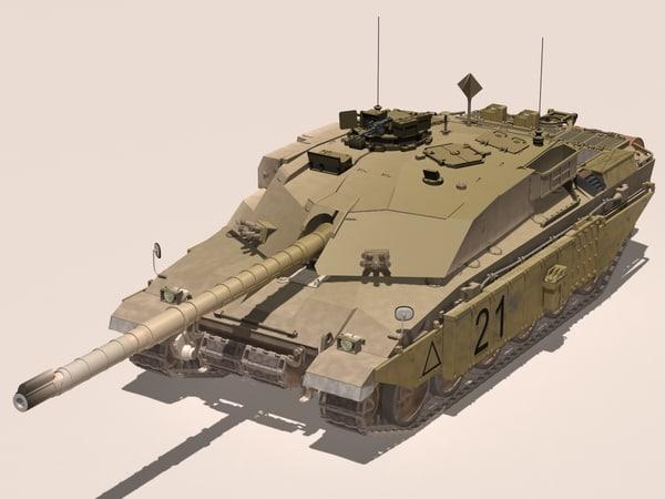 british challenger 1 battle tank 3ds