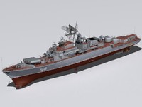 3d project 1135 frigates model