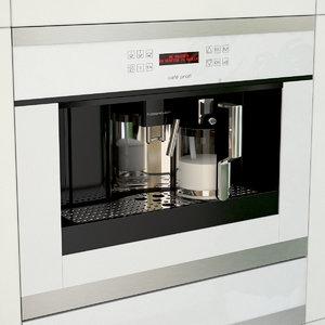 coffee machine ekv6500 kuppersbusch 3d model