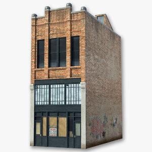 3d building modeled