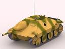 3d model jagdpanzer hetzer
