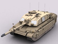 3ds fv4034 challenger 2 battle tank