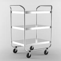 3d shelf steel tubular