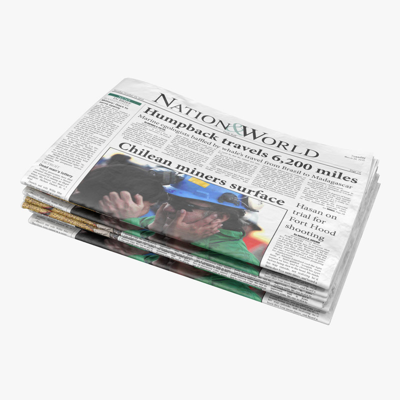 3d newspapers 2