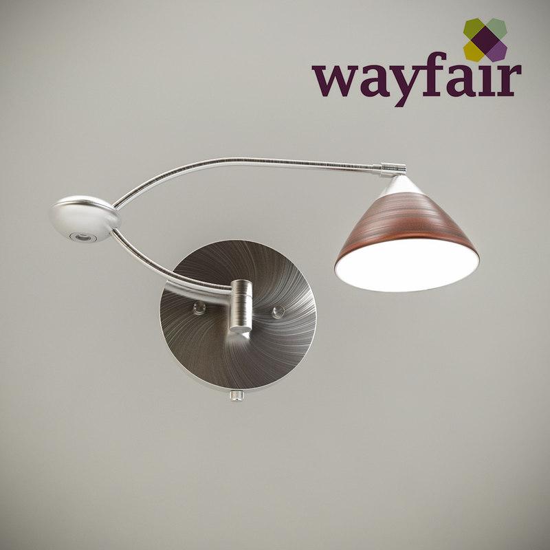 wayfair domi swing arm 3d max
