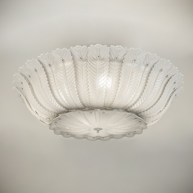 3d model of chandelier ceiling