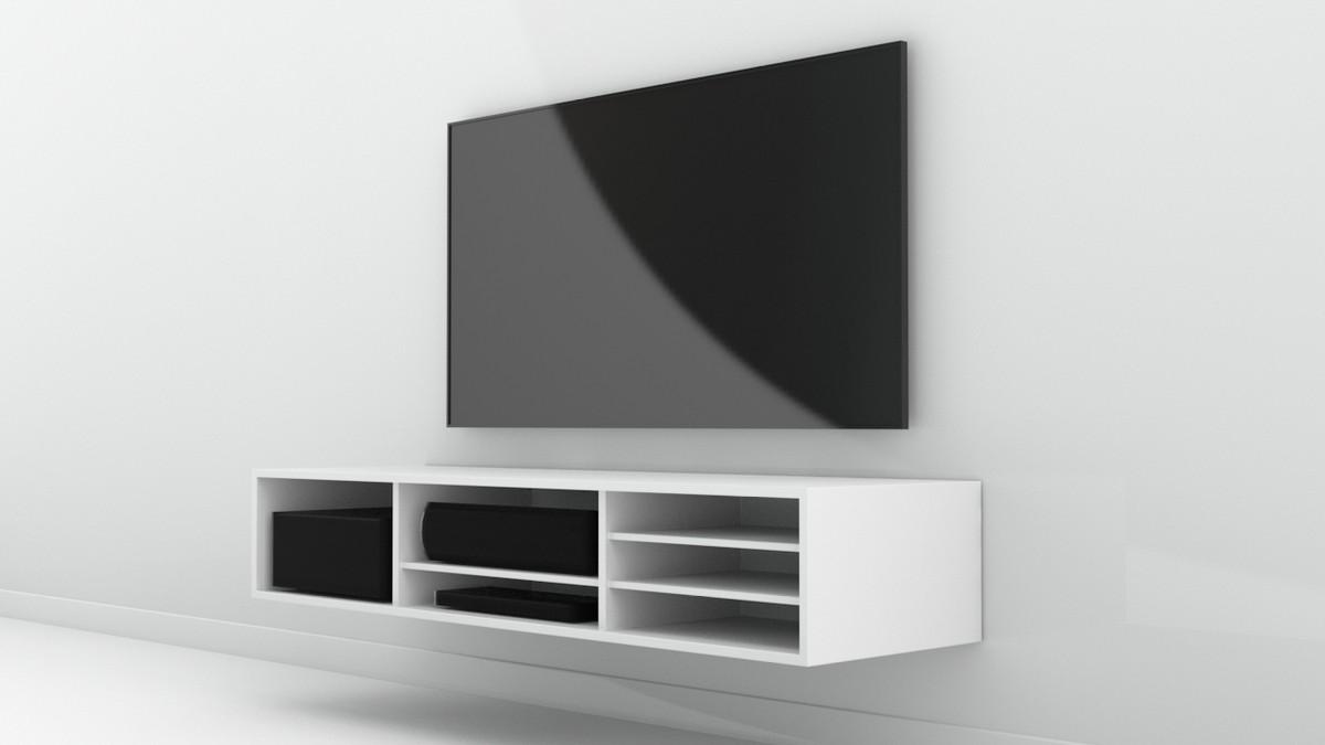 obj simple tv rack
