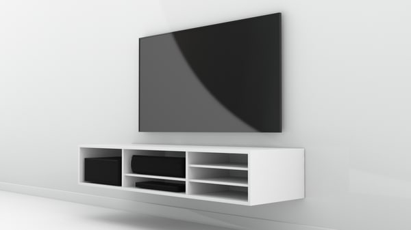 obj simple tv rack