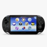 3dsmax sony playstation vita 3g