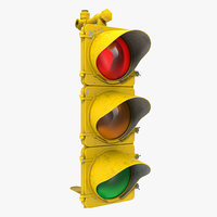 stop light 2 3d 3ds