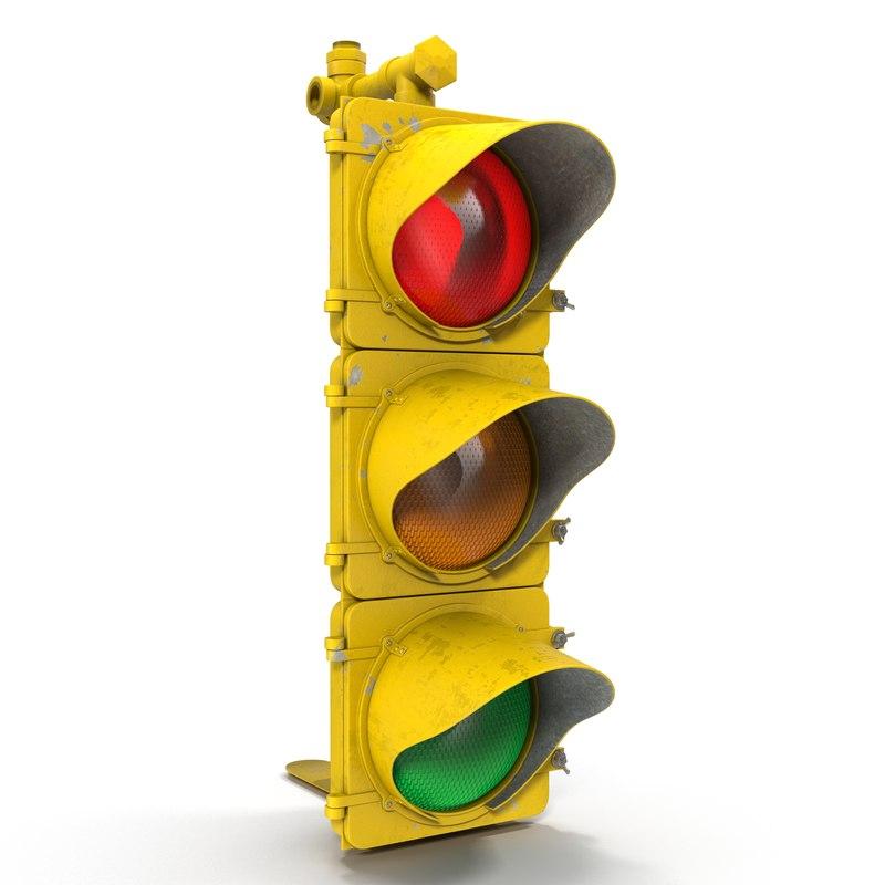 stop light 2 3d 3ds
