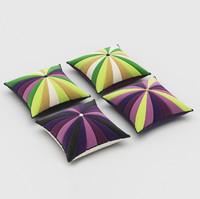 pillows 64 3d model