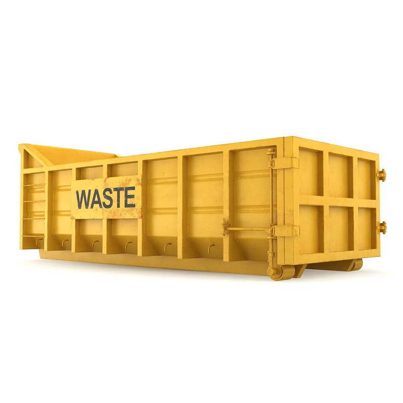 3ds max container waste