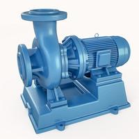 pump centrifugal 3d model
