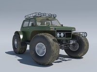 3d model lada niva 1922 marsh