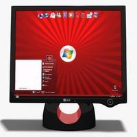 Monitor LCD LG L1900R