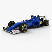 Sauber C34 F1 2015