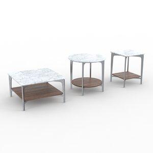 sax alivar tables 3d max
