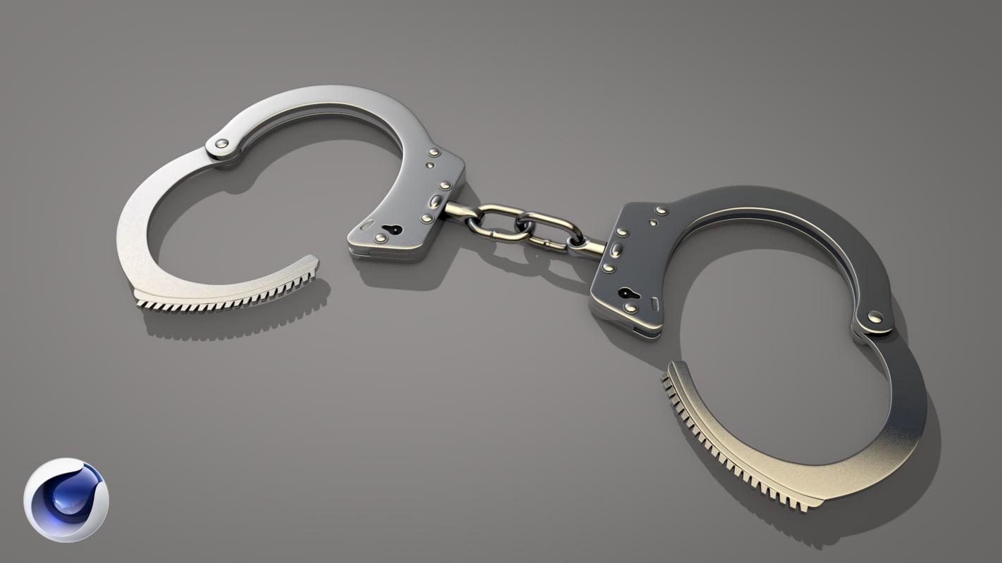c4d handcuffs