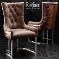 3d chair itaca rugiano model