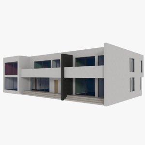 3d model modernist interior
