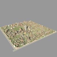 3ds max city block