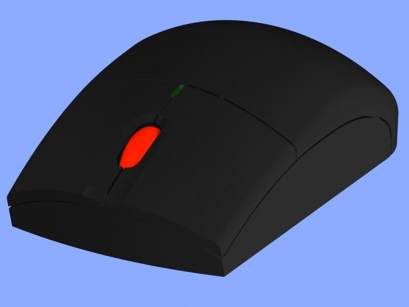 3d ibm bluetooth laser mouse