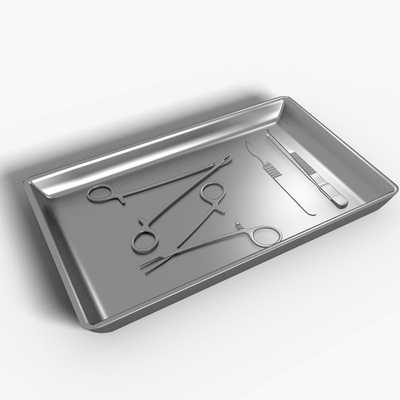 3d model surgical instruments