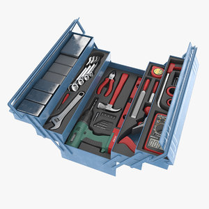 3d tools box