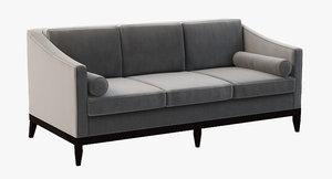 3d model danner sofa