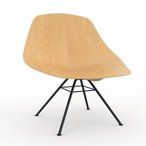 wing chair lema 3d obj