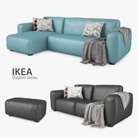 ikea dagarn sofa series max