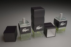 3ds max lacoste challenge edt