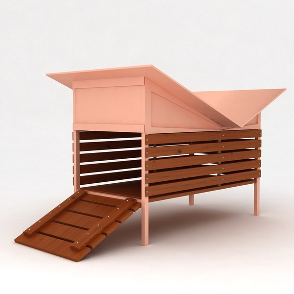 max dog house wooden