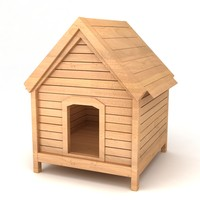 Dog House model Simple