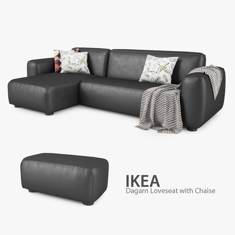 Dagarn With Ikea Chaise Loveseat Ikea tQshCxrd