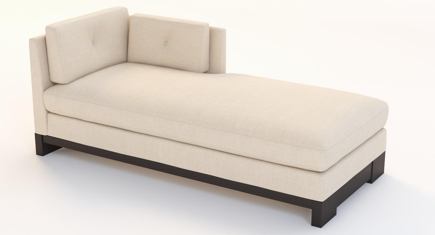 3d domicile chaise raf model